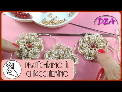 PIC3a3- Completamento dei livelli di archi e cerchi con perle sul fronte.