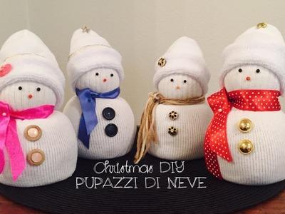 Pupazzi di neve | Christmas DIY Snowman