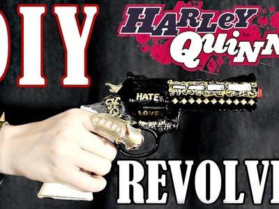 DIY HARLEY QUINN'S REVOLVER [SUB ENG] - SPECIALE 1500 ISCRITTI ❤