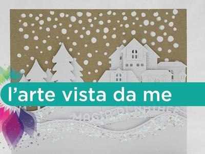 Card Magia di Natale - Scrapbooking Tutorial- Natale Fai da te