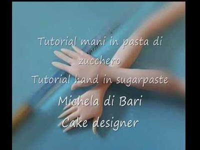 Tutorial mani in pasta di zucchero ♥ Tutorial hand in sugarpaste