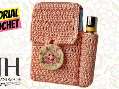 [ACCESSORI] Tutorial uncinetto porta sigarette.porta tutto | Idea regalo.Gift idea || Katy Handmade