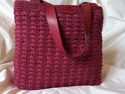 Tutorial Bacco Bag - Crochet- Punto Bacco