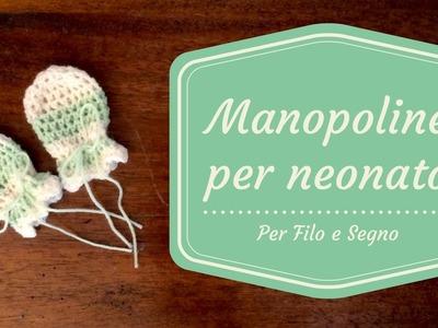 Tutorial - Manopoline per neonato