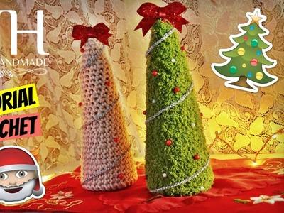 [DECORAZIONI] Tutorial uncinetto albero di Natale | Crochet Christmas tree || Katy Handmade