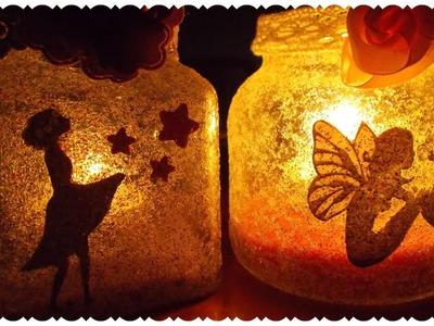 Lanterne con le Fatine ✨ DIY Fairy Jars | Tutorial Riciclo Creativo