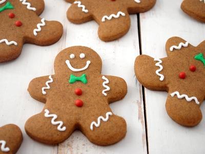 Omini di pan di zenzero,Biscotti di Natale FACILI E VELOCI