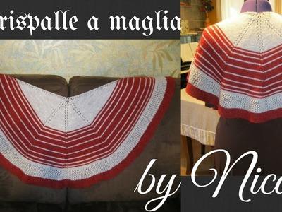 Tutorial-Coprispalle ai ferri. knit a simple shawl