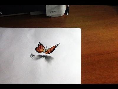 Drawing a 3D butterfly - Tutorial