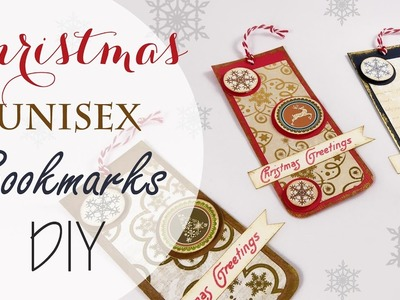 Tuto: Segnalibro Natale unisex - ENG SUBS Unisex Christmas Bookmarks DIY