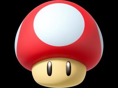 Funghetto di Mario con Pyssla.Hama Beads