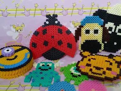 Le mie nuove creazioni in pyssla | hama beads update   #4