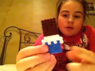 Le mie creazioni in pyssla.hama beads ( il mio primo video).