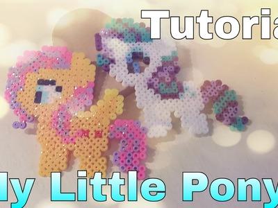 Tutorial My Little Pony in pyssla | hama beads !!!