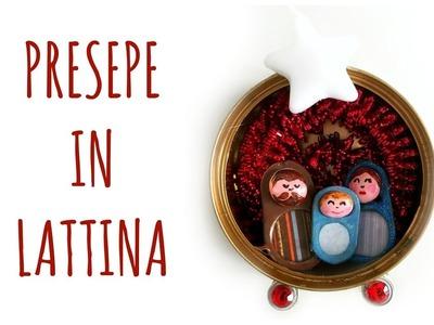 Presepe in Lattina: riciclare linguette e lattine! (Natale.Riciclo creativo) Arte per Te