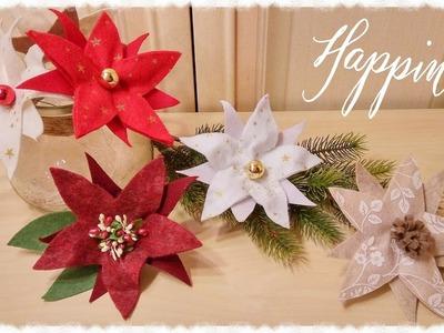 Stelle di Natale 3 in 1 semplici & senza cucire
