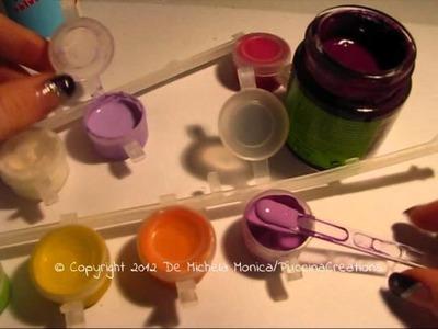 DIY Tutorial Glassa - Glaze | PuccinaCreations