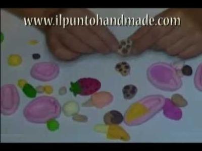 Come usare stampini per fimo a più colori