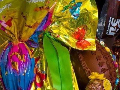 Come riciclare l'uovo di Pasqua -Riciclo creativo