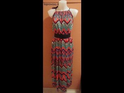 DIY Maxi Dress - Come fare un abito lungo in 10 min.