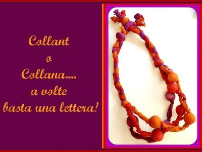 Festa della mamma: Collana con collant riciclati (Fai da Te) - Arte per Te -