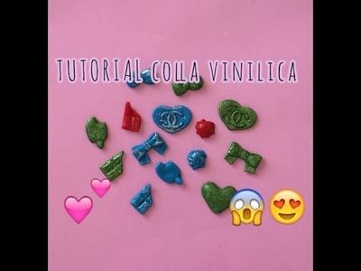 DIY STICKERS 3D! Tutorial Creazioni in Colla Vinilica. Tutorial creations with vinyl glue