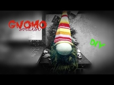 [#DIY] GNOMO SVEDESE - gnomi fai da te - NORWEGIAN SWEDISH NISSE CHRISTMAS ELF