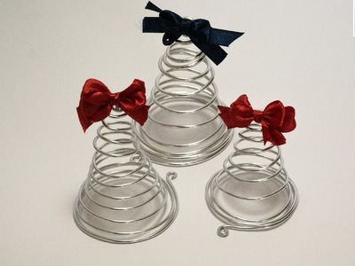 Tutorial: Albero di Natale in Wire (ENG SUBS - DIY wire Christmas tree)