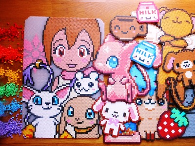 Le mie creazioni in Pyssla | My perler beads creations