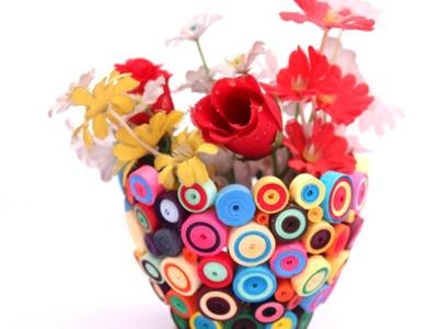 Crea un Bel Vaso in Quilling di Carta - Fai da Te Creazioni - Guidecentral