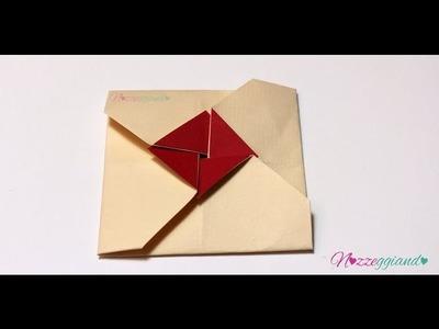 Busta origami quadrata   Partecipazioni   Tutorial Nozzeggiando