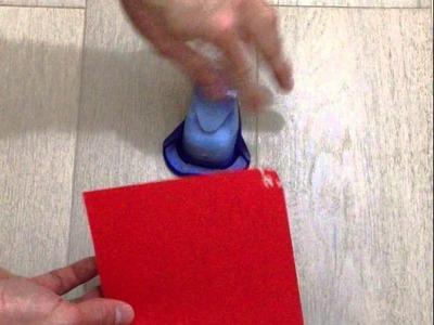Come utilizzare una perforatrice fustella per angoli - SCRAPBOOKING -