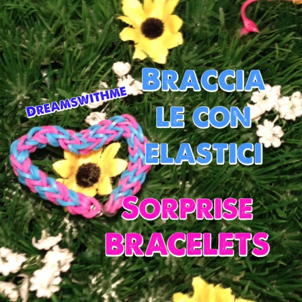Diy bracciale con elastici sorbrise bracelets