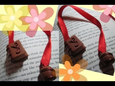 DIY Polymer clay: bookmark. segnalibro!