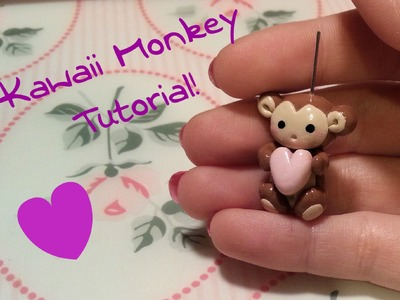 DIY Polymer clay: Tutorial Kawaii Monkey!