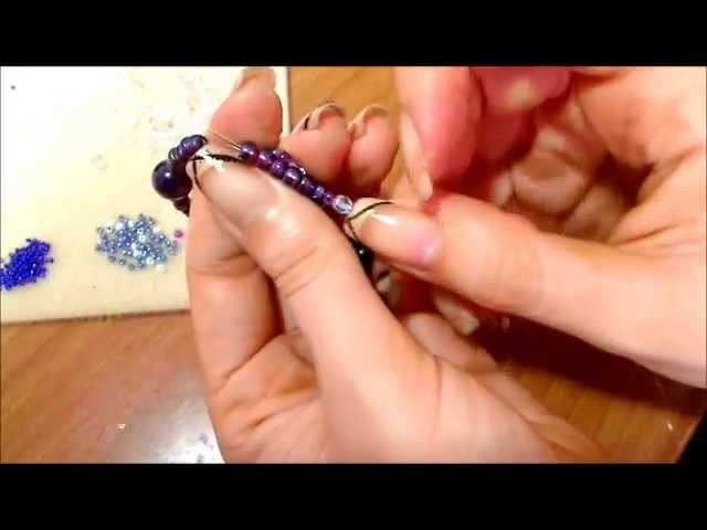 DIY triple spiral tutorial bracciale anche per orecchini con perline gioielli fai da te