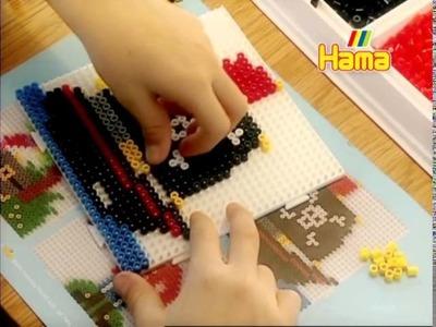 Hama Beads - Componi le tue figure e un adulto fisserà il tuo lavoro con il ferro da stiro!
