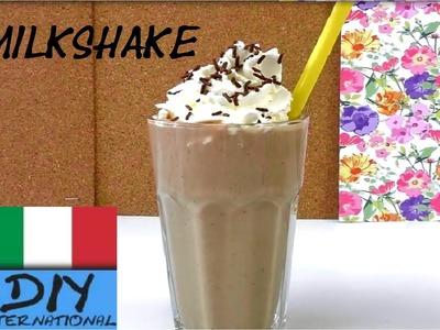 Milkshake Tutorial  DIY. Come preparare un milkshake Nutella e banana