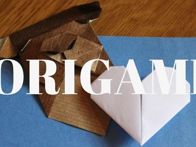 Origami segnalibri | DIY Cane origami, Cuore origami | Roberta Nina Ingrascì