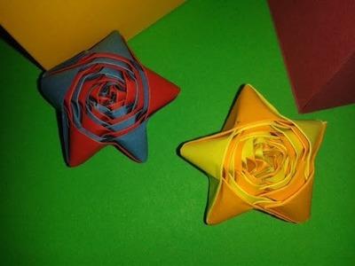 Origami: Stella di Natale (medio)