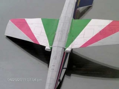 Papercraft PAN-339 Frecce Tricolori
