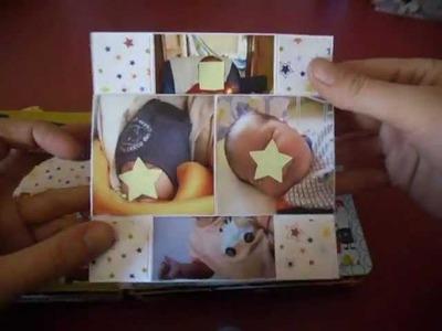 """Scrapbooking: baby album """"Buon Viaggio"""""""