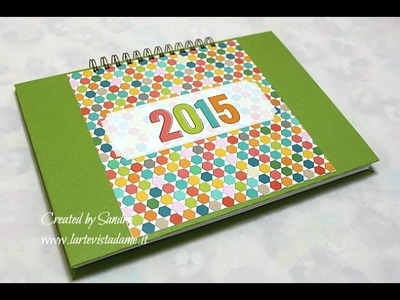 Scrapbooking Tutorial: Organizer Fai da te-How to make your Planner DIY