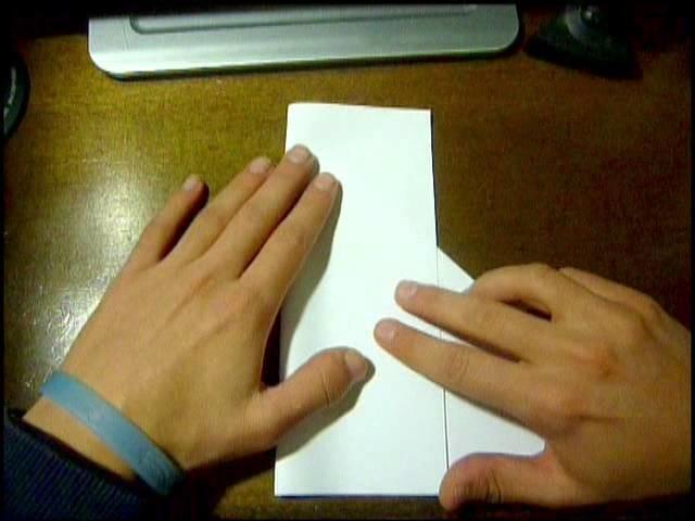 Tutorial foglio A4 Quadrato