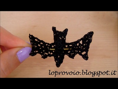 Tutorial: Pipistrello all'uncinetto - DIY: Crochet Bat