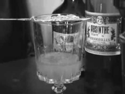 Absinthe ritual - spoon craft