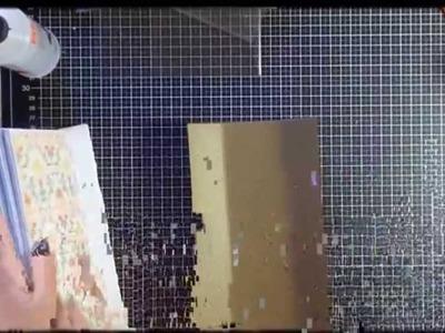 Album passo passo parte finale- Scrapbooking Tutorial | Scrapmary