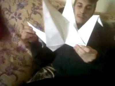 Cigno - Origami Gigante by Jizz&Memi