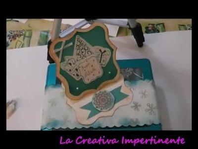 Collaborazione con sfida creativa e prima decorazione (paper craft)