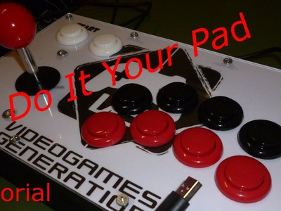 Come costruire un arcade stick - Tutorial - DIY - Do It Your Pad